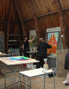 Intuitive painting retreat